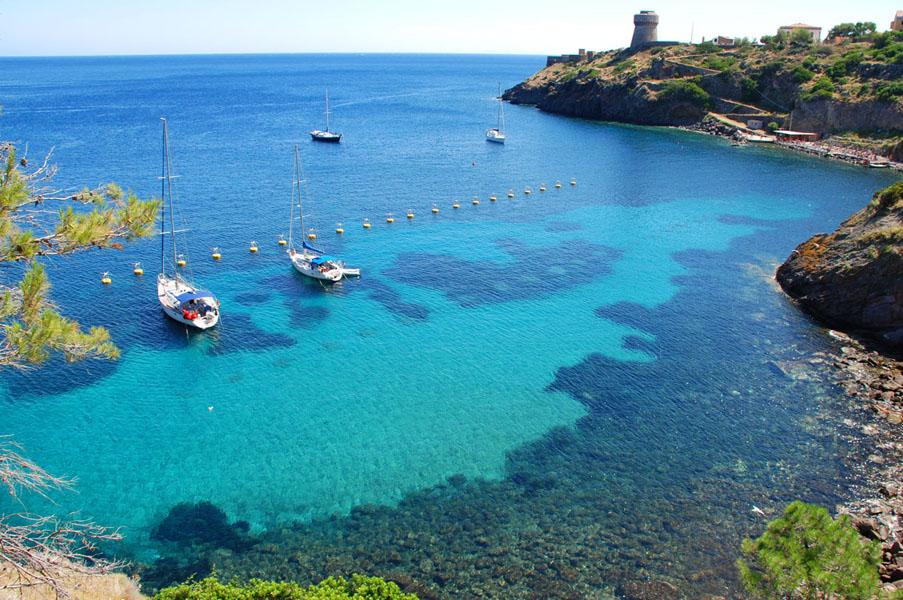 crociere in barca a vela a capraia aricpelago toscano