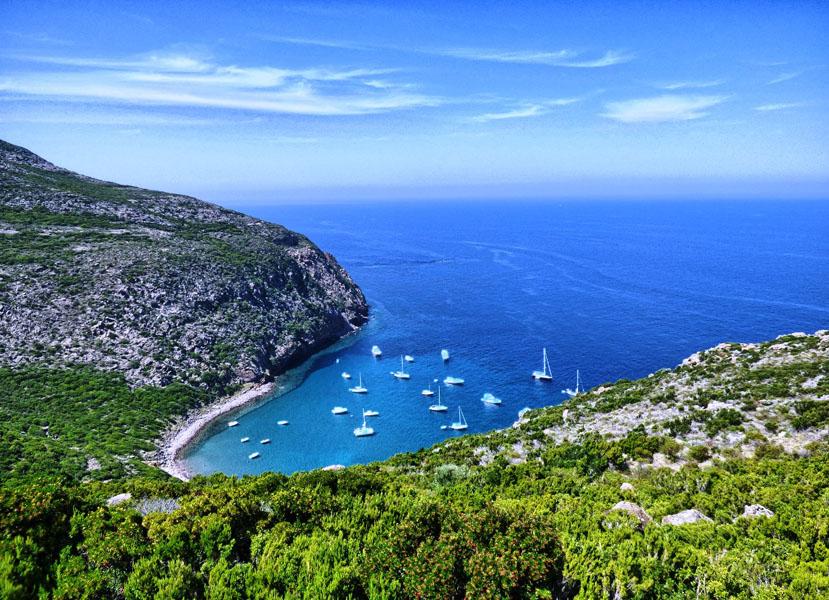vacanza a vela nell isola di capraia