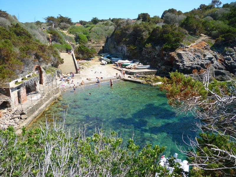 vacanza vela Porto Romano Isola Giannutri